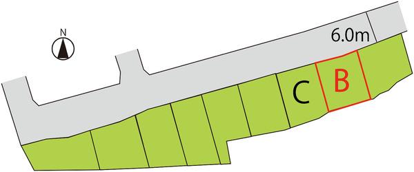 売地  / 米沢市成島町2丁目 B区画