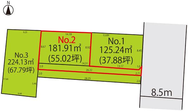 売地  / 山形市千歳1丁目 No.2