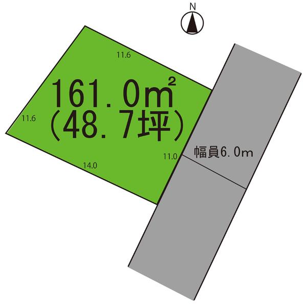 売地  / 寒河江市船橋町